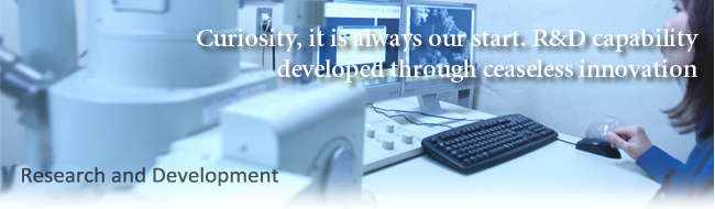 Curiosity, it is always our start. R&D capability developed through ceaseless innovation